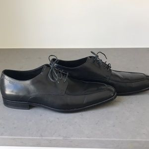 Black Hugo Boss dress shoes